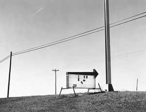 8154.8, sign and poles, Mt. Horeb, WI, 1981