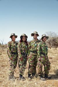 Black Mambas Mirren, Winnie, Benlinda & Dedaya