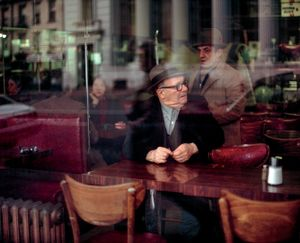 Old Men in a Coffee Shop, New York, NY, 1981 © Robert Herman