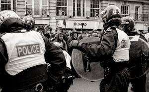 Anti-cuts protest, London, 2011.