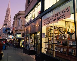 Celebrating 60 Years, City Lights Bookstore, San Francisco