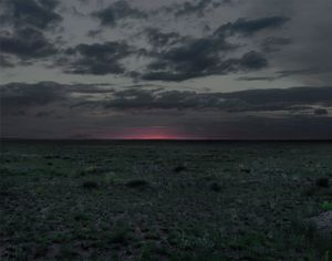 "The Polygon Nuclear Test Site XII (Dust To Dust), Kazakhstan 2011. From the book ""Dust"" © Nadav Kander. Courtesy Flowers Gallery."