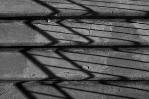 Concrete Steps and Shadows
