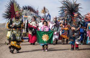 Aztecs for Standing Rock