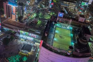 Let's play football in Shibuya