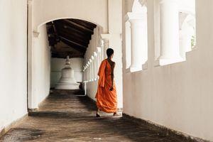 Sri Lankan monk