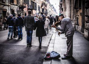 the Violinist (Rome)