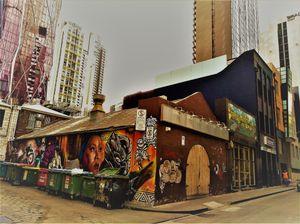 9 Melbourne street life Graff