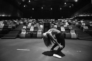 """© Nafise Motlaq - She gets ready for a contemporary dance show in Kuala Lumpur. """"My  biggest dream is to write and direct a dance play for a huge audience"""" she said."""