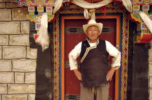 Residents of Junpa Village, Tibet photographed 30 June 2005. © Forest McMullin