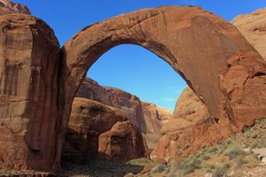 Rainbow Bridge in Arizona
