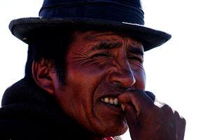 Hombre Chipaya, 2
