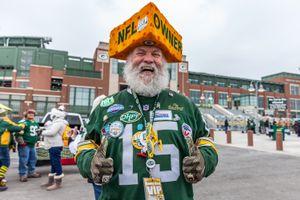 Steve - Green Bay Packers Fanatic, Lambeau Field, Wisconsin 2018