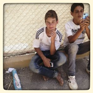 Photos by Omar* inside Za'atari refugee camp