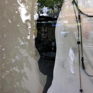Window. Bd.St.Michel. Paris 2007