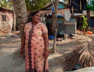 Fisherman's wife, Kerala