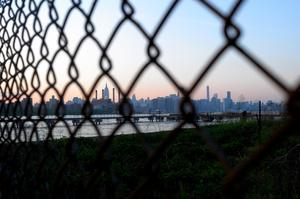 Through the fence - Williamsburg, Brooklyn