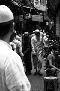 A regular street of Nizamuddin West