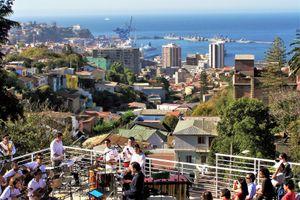 Valparaíso - desde Neruda