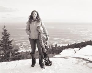 Alison and Emmett On Gorham Mountain, Acadia National Park, Maine