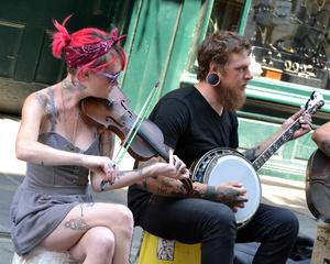 Street Musicians, New Orleans 2016