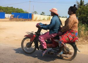 15 Cambodge on the road