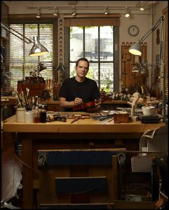 Guy Rabut - Violin Maker , Chelsea Manhattan
