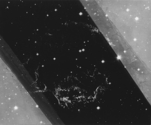 Supernova Remnant, Gelatin silver print, 2013.