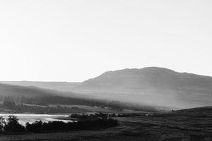 On The Move: Misty Landscape