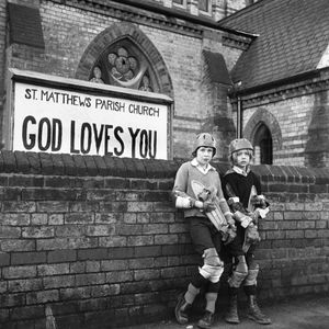 God Loves Skateboarders - Adrian and Michael, St. Matthew's Church.