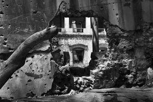 Rocket Hole, Beirut 2004