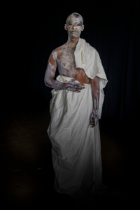 Trust; Hadrian in the Underworld (Titus, whitened, returning alone) Studio, Atlanta, 2019