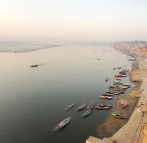 The Bend in the River, the Ganges at Varanasi.