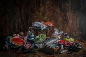 Plastic Heritage #4 Fish Feast