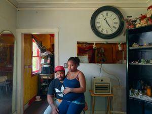 Rochelle and Shawn, Eastside, Detroit 2014