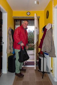 Red Jacket, yellow walls