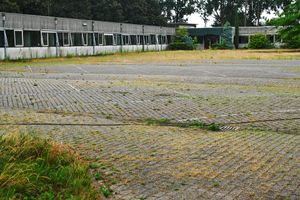 Production halls belonging to the former AKZO facility in Arnhem NL