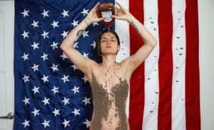 If you're desperate for attention, use honey not America.