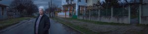 PETER VULCHEV Art Work 09 BABA GORE after the rain in front of our house