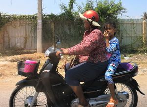 18 Cambodge on the road