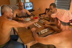 A Dominoes Afternoon, Viñales.