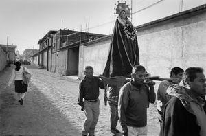 Madonna in procession, Teotitlán