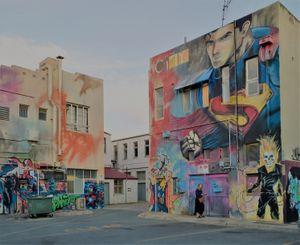 7 Canberra street life Graff