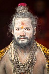 Sadhu portrait 01