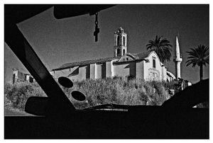 Saint Marina church, occupied Cyprus, Kuthrea, Nicosia district 2003