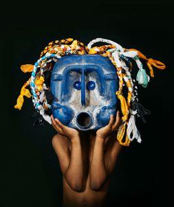 Trash Mask_blue