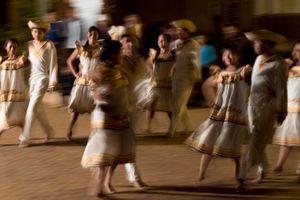 Bailes en la noche