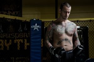 CM Punk at the gym