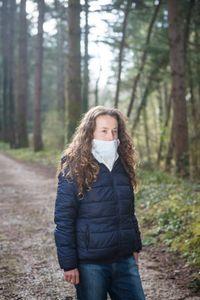 Paola, 45, in the natural area of Sant'Antonio, Reggello.