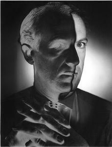 Erwin Blumenfeld, Cecil Beaton, 1946. Gelatin silver print. Vintage print. Private collection, Switzerland © The Estate of Erwin Blumenfeld